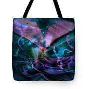 Mysteries Of The Universe Tote Bag by Linda Sannuti