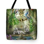 Mystic Garden Tote Bag by Ciro Marchetti