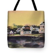 Mystic Morning Tote Bag by Donna Tuten