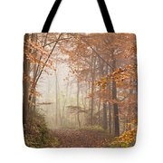 Mystic Woods Tote Bag by Anne Gilbert