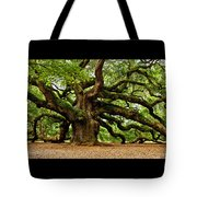 Mystical Angel Oak Tree Tote Bag by Louis Dallara