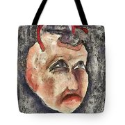 Nagging Doubts Tote Bag by Michal Boubin