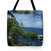 Nahiku Kaelua Honolulunui Bay Maui Hawaii Tote Bag by Sharon Mau