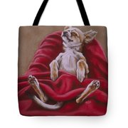 Nap Hard Tote Bag by Barbara Keith