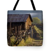 Napa Morning Tote Bag by Bill Gallagher