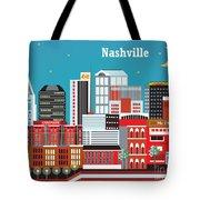 Nashville Tote Bag by Karen Young