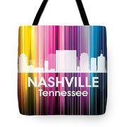 Nashville Tn 2 Tote Bag by Angelina Vick