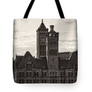 Nashville's Union Station Tote Bag by Dan Sproul