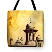 National College Of Arts Lahore Tote Bag by Catf