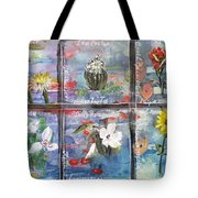 native Texas wildflowers A Tote Bag by Michael Dillon