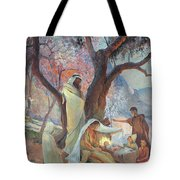 Nativity Tote Bag by Frederic Montenard