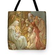 Nativity Tote Bag by John Lawson