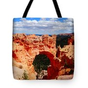 Natural Bridge In Bryce Canyon National Park Tote Bag by Dan Sproul