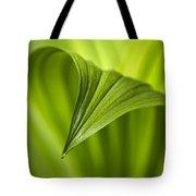 Nature Unfurls Tote Bag by Christina Rollo