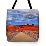 Navajo Bridge Tote Bag by Dan Sproul