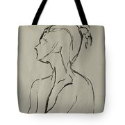 Neckline Tote Bag by Peter Piatt