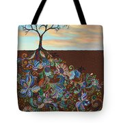 Neither Praise Nor Disgrace Tote Bag by James W Johnson