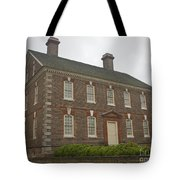 Nelson House Yorktown Tote Bag by Teresa Mucha