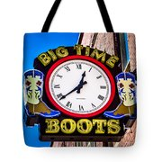 Neon Boots Tote Bag by Perry Webster