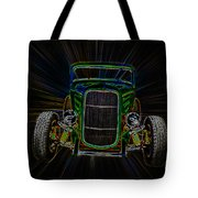 Neon Deuce Coupe Tote Bag by Steve McKinzie