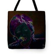 Neon Sir Paul Tote Bag by Tina M Wenger