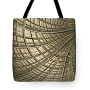 Network Gold Tote Bag by John Edwards