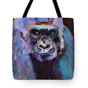 Never Date A Gorilla With A Nice Smile Tote Bag by Pat Saunders-White