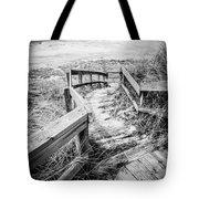 New Buffalo Michigan Boardwalk and Beach Tote Bag by Paul Velgos