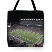 New England Patriots And Tom Brady Tote Bag by Juergen Roth