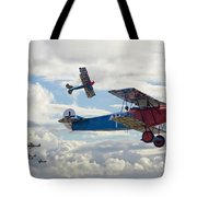 New Kid On The Block Tote Bag by Pat Speirs