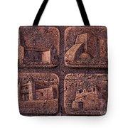 New Mexico Churches Tote Bag by Ricardo Chavez-Mendez