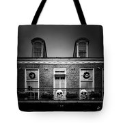 New Orleans- A Skull Paradise Tote Bag by Christine Till
