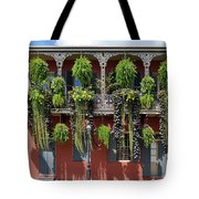 New Orleans City Jungle Tote Bag by Christine Till
