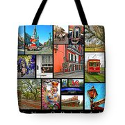 New Orleans Tote Bag by Steve Harrington