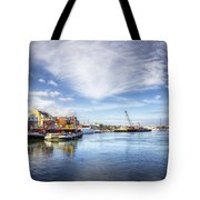 New Years In Portsmouth Nh Tote Bag by Eric Gendron