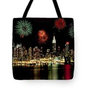 New York City Fourth of July Tote Bag by Anthony Sacco