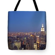 New York City Tote Bag by Juergen Roth