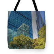 New York City Reflections Tote Bag by Bob Hislop