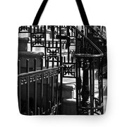 New York City Wrought Iron Tote Bag by Rona Black