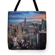 New York New York Tote Bag by Inge Johnsson