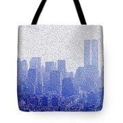 New York Skyline Tote Bag by Jon Neidert