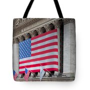 New York Stock Exchange IIi Tote Bag by Clarence Holmes