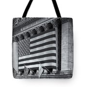 New York Stock Exchange Iv Tote Bag by Clarence Holmes