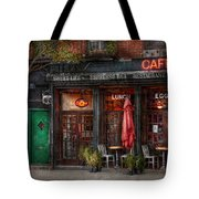 New York - Store - Greenwich Village - Sweet Life Cafe Tote Bag by Mike Savad
