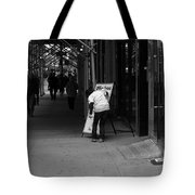 New York Street Photography 26 Tote Bag by Frank Romeo