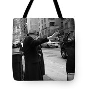 New York Street Photography 27 Tote Bag by Frank Romeo
