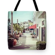 Newport Beach Main Street Balboa Peninsula Picture Tote Bag by Paul Velgos