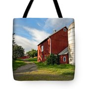Newtown Barn Tote Bag by Bill  Wakeley