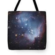 Ngc 602, Starforming Complex Tote Bag by Robert Gendler