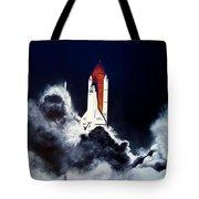 Night Launch Tote Bag by Murphy Elliott